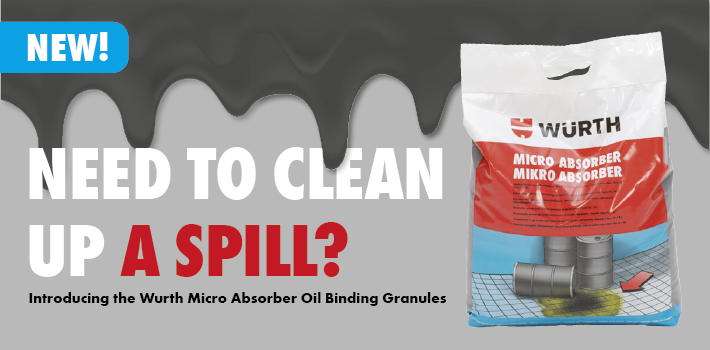 Introducing the Wurth Micro Absorber Oil Binding Granules